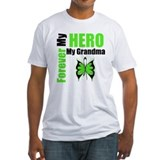 Lymphoma Hero Grandma Shirt