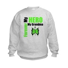 Lymphoma Hero Grandma Sweatshirt