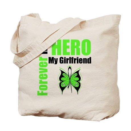 Lymphoma Hero Girlfriend Tote Bag