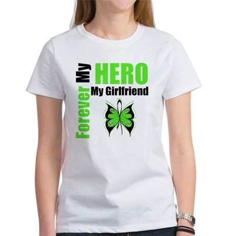 Lymphoma Hero Girlfriend Women's T-Shirt