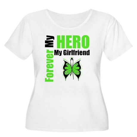 Lymphoma Hero Girlfriend Women's Plus Size Scoop N