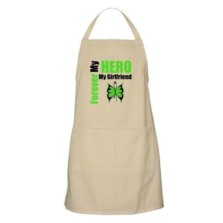 Lymphoma Hero Girlfriend BBQ Apron