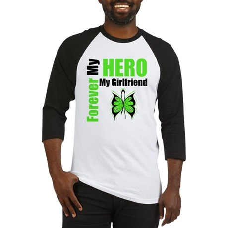 Lymphoma Hero Girlfriend Baseball Jersey