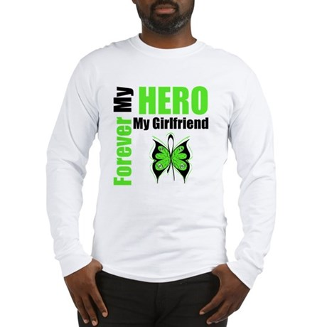 Lymphoma Hero Girlfriend Long Sleeve T-Shirt
