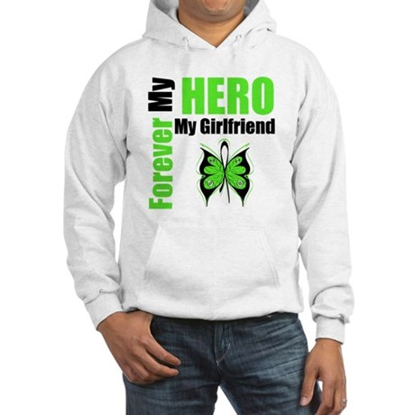 Lymphoma Hero Girlfriend Hooded Sweatshirt