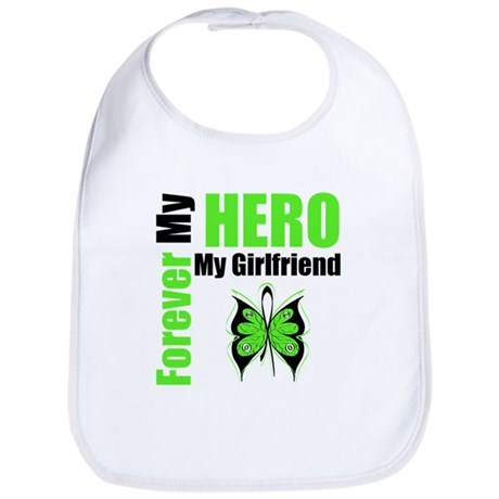 Lymphoma Hero Girlfriend Bib