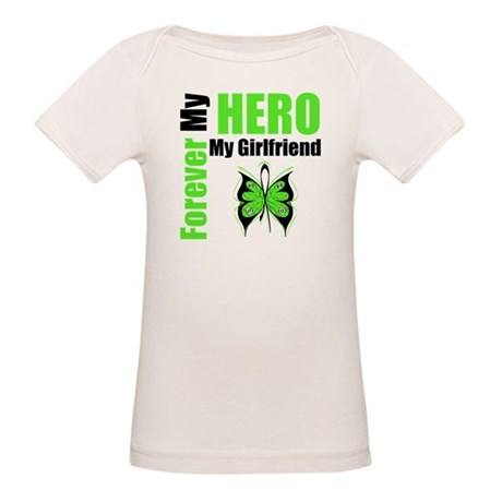 Lymphoma Hero Girlfriend Organic Baby T-Shirt
