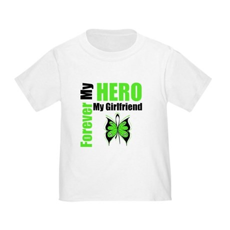 Lymphoma Hero Girlfriend Toddler T-Shirt