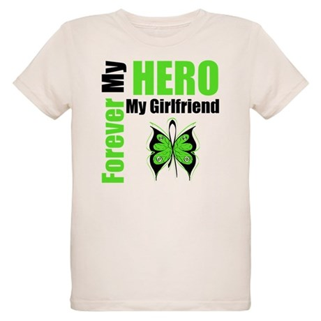 Lymphoma Hero Girlfriend Organic Kids T-Shirt