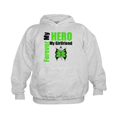 Lymphoma Hero Girlfriend Kids Hoodie