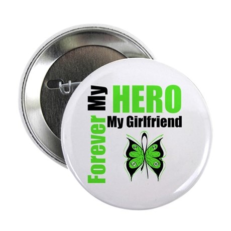 "Lymphoma Hero Girlfriend 2.25"" Button (10 pack)"
