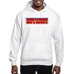 Assault is a Behavior Hooded Sweatshirt