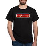 Assault is a Behavior Dark T-Shirt
