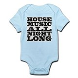 House Music All Night Long Onesie