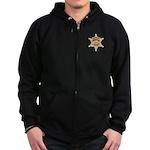 O.C. Harbor Police Zip Hoodie (dark)
