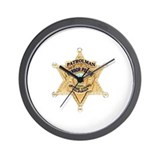 O.C. Harbor Police Wall Clock
