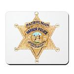 O.C. Harbor Police Mousepad