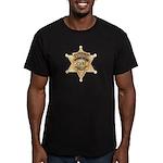 O.C. Harbor Police Men's Fitted T-Shirt (dark)