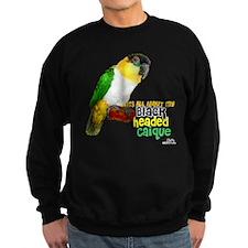 Black Headed Caique Sweatshirt