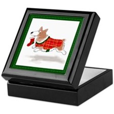 Pembroke Welsh Corgi Keepsake Box