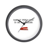 Office Space Gangster Wall Clock