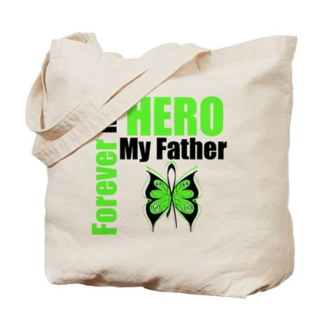 Lymphoma Hero Father Tote Bag