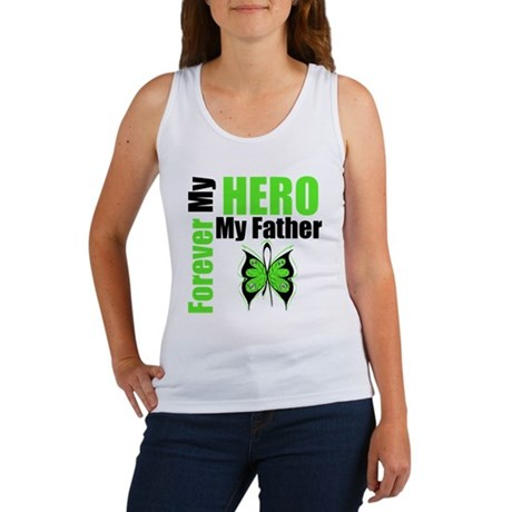 Lymphoma Hero Father Women's Tank Top