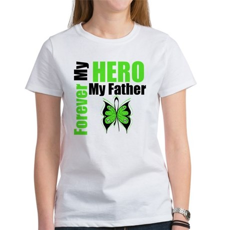 Lymphoma Hero Father Women's T-Shirt