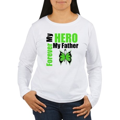 Lymphoma Hero Father Women's Long Sleeve T-Shirt
