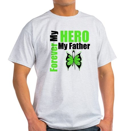 Lymphoma Hero Father Light T-Shirt