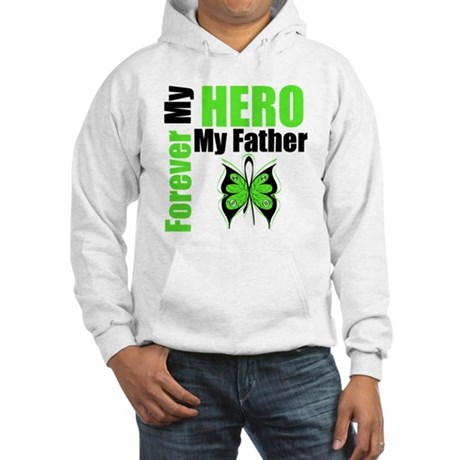 Lymphoma Hero Father Hooded Sweatshirt