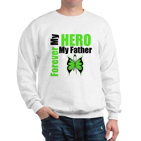 Lymphoma Hero Father Sweatshirt