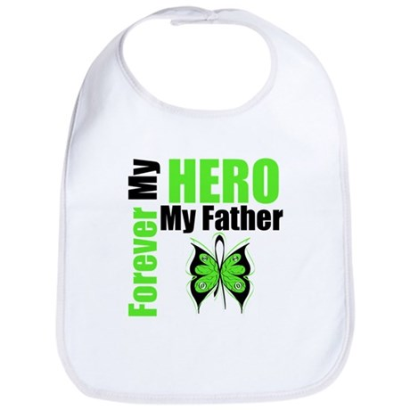 Lymphoma Hero Father Bib
