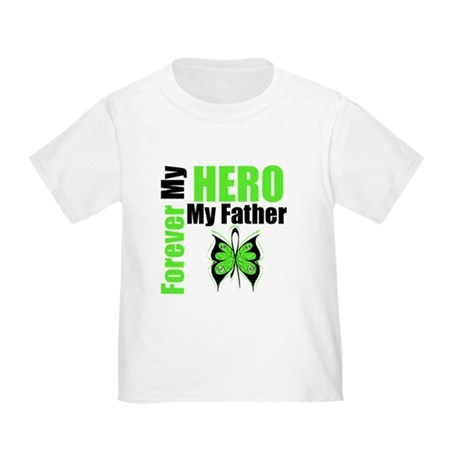 Lymphoma Hero Father Toddler T-Shirt