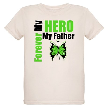 Lymphoma Hero Father Organic Kids T-Shirt