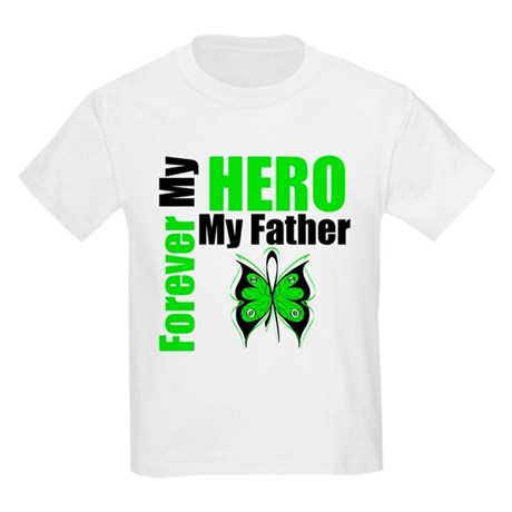 Lymphoma Hero Father Kids Light T-Shirt