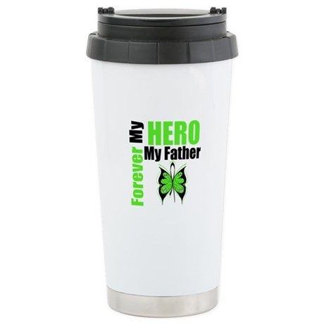 Lymphoma Hero Father Ceramic Travel Mug