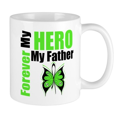 Lymphoma Hero Father Mug