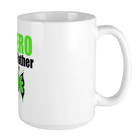 Lymphoma Hero Father Large Mug