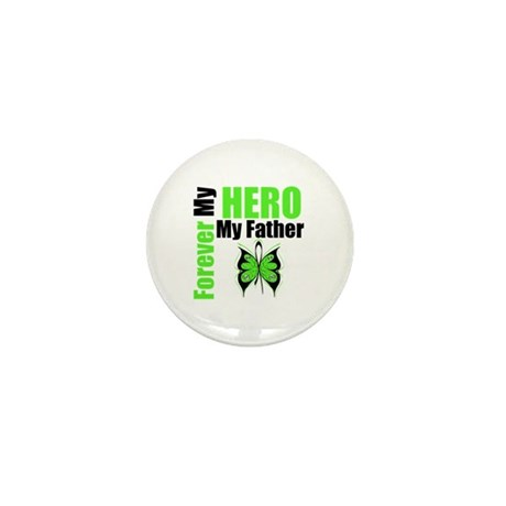 Lymphoma Hero Father Mini Button