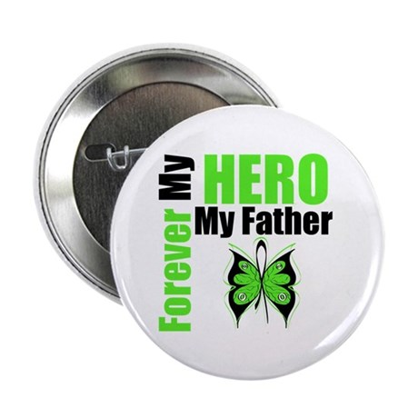 "Lymphoma Hero Father 2.25"" Button (10 pack)"