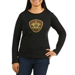 Tombstone Marshal Women's Long Sleeve Dark T-Shirt