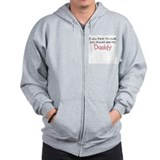 Cute Like Daddy - Zipped Hoody