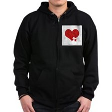 For the Love of Connor- Zip Hoodie