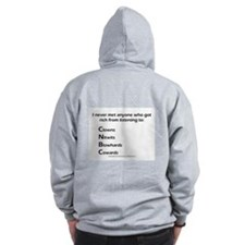 Cute Mad money Zip Hoodie