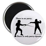 "Parry-Riposte 2.25"" Magnet (100 pack)"
