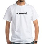 got teleprompter? White T-Shirt