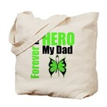 Lymphoma Hero Dad Tote Bag