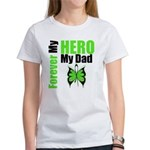 Lymphoma Hero Dad Women's T-Shirt