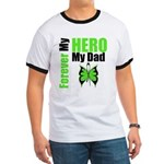Lymphoma Hero Dad Ringer T